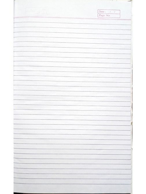 Register Long Exercise Book (100 Pages, Pack of 2)