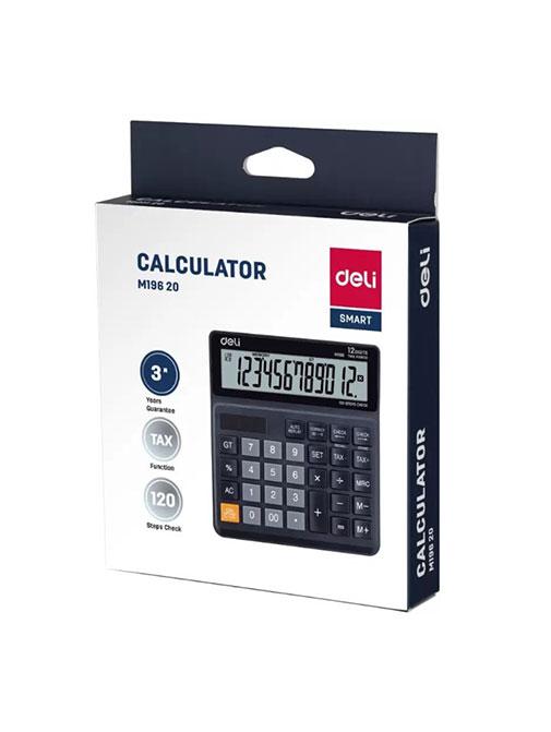 Deli M196 20 Smart Electronics Desktop Calculator