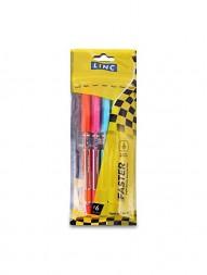 linc-faster-ball-pen-black-ink-0.7-mm-pack-of-5246