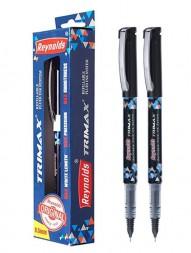 reynolds-trimax-refillable-fluid-ink-gel-pen-black-ink-0.5mm-pack-of-21020