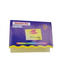 butterfly-sticky-notepad-yellow-3-x-4-100-sheets-pack-of-2