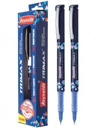 reynolds-trimax-refillable-fluid-ink-gel-pen-blue-ink-0.5mm-pack-of-21019