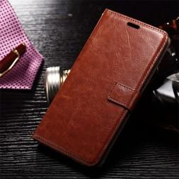 zekaasto-vivo-y15--flip-cover-brown-vintage-flip-cover-duel-protection-standing-view-storage-slots-brown-dual-protection