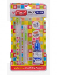 flair-inky-classic-liquid-ink-fountain-pen-blue-ink-pack-of-21000