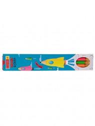 camlin-nova-glowing-triangular-eraser-tip-pencil-pack-of-201304