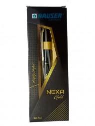 hauser-nexa-gold-ball-pen-blue-ink-pack-of-2
