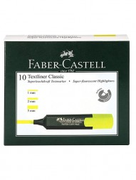 faber-castell-textliner-classic-super-fluorescent-highlighters-yellow-pack-of-101305