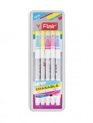 flair-erasable-highlighter-1mm-and-4mm-tip-pack-of-51084